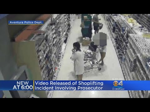 Police Release Video They Say Shows Broward Prosecutor Stealing From Store