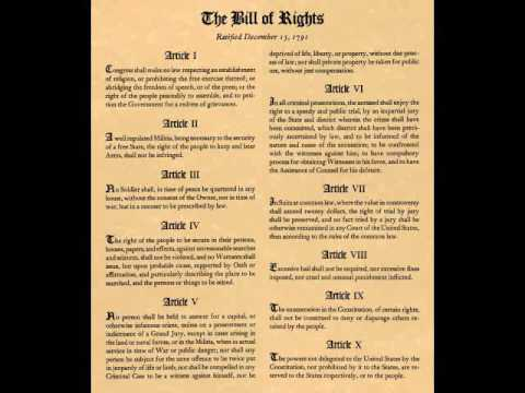 Bill of Rights Common Law Explained Conclusion