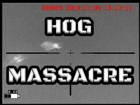 HOG MASSACRE: HUNTING W/BELT FED MACHINEGUN
