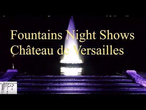NH  Part III Musical Fountains Night s Château de Versailles fontaines Août 2017