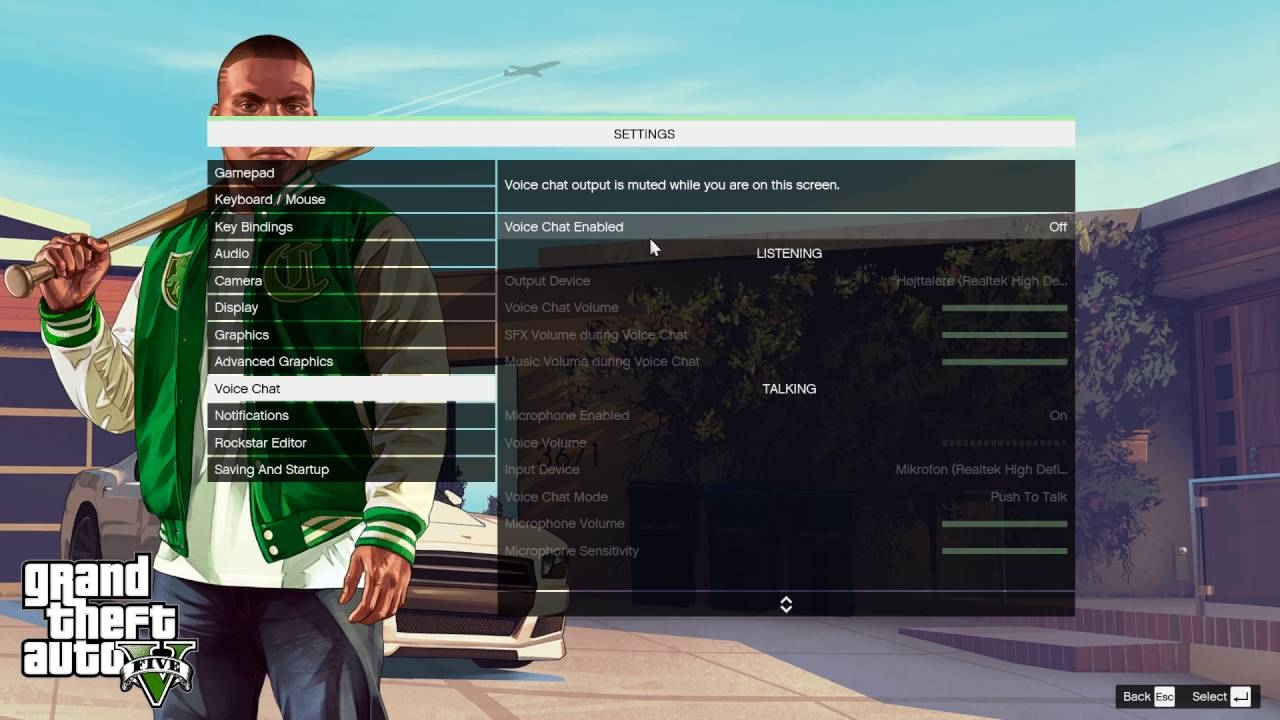 How To Enable Voice Chat In GTA V
