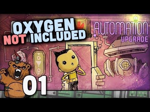 Agora é oficial | Oxygen Not Included #01 - Gameplay Português PT-BR
