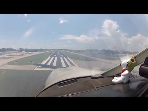Landing at Merritt Island, FL