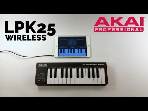"""AKAI : Le clavier et contrôleur Midi sans fil LPK25 WIRELESS """"UNBOXING"""" (vidéo de la boite noire)"""