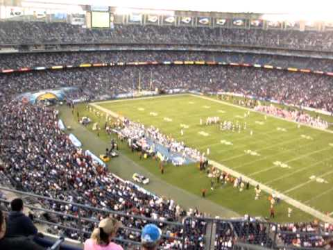 San Diego Chargers Qualcomm Stadium Sec 43 Row 22 Seat 16 ... Qualcomm Stadium Chargers Wallpaper