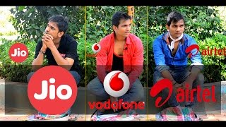 JIO vs Airtel vs Vodafone After Jio Summer Surprise Offer | Funny Video thumbnail