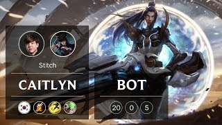 Caitlyn ADC vs Ezreal - KR Challenger Patch 94