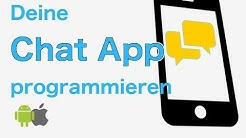Chat App programmieren iOS + Android (1/3)