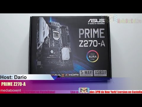 Asus Prime Z270-a Lga 1151 Intel Mining Rig