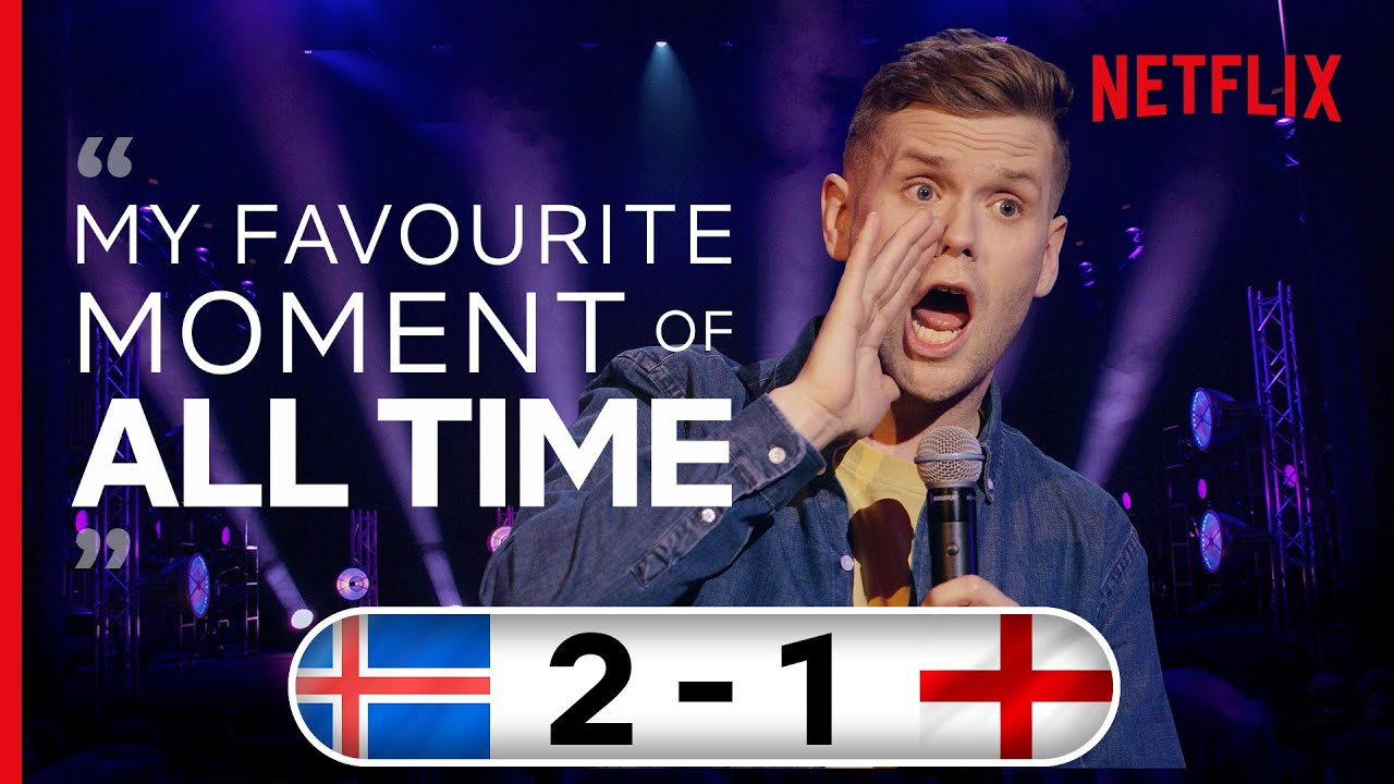 When Iceland Beat England in Euro 2016 | Stand Up Comedy | Ari Eldjárn