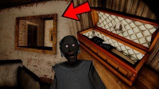 NUEVO SECRETO !! GRANNY ESCONDE UN CADÁVER OCULTO - Granny (Horror Game)