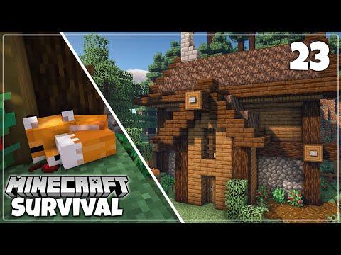 Fox Sanctuary Build - Minecraft 1.16 Survival Let's Play