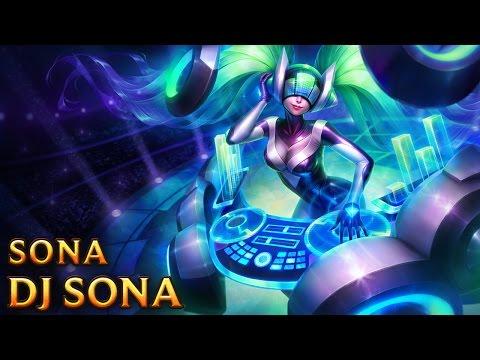 DJ Sona - Skins lol
