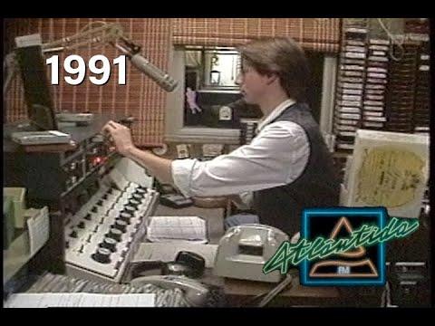 Atlântida FM de Porto Alegre - 1991