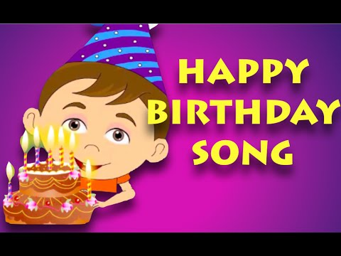 Happy Birthday Song Nursery Rhymes For Children Youtube