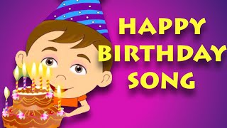 Happy Birthday Song | Nursery Rhymes For Children