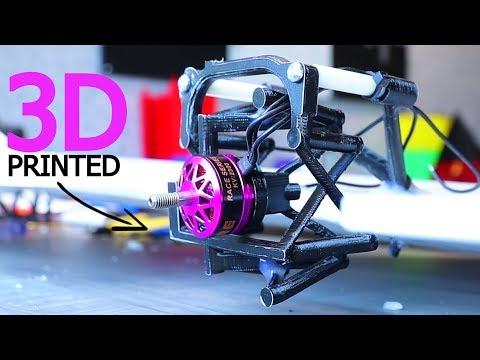 3D Printed Vectoring Mechanism