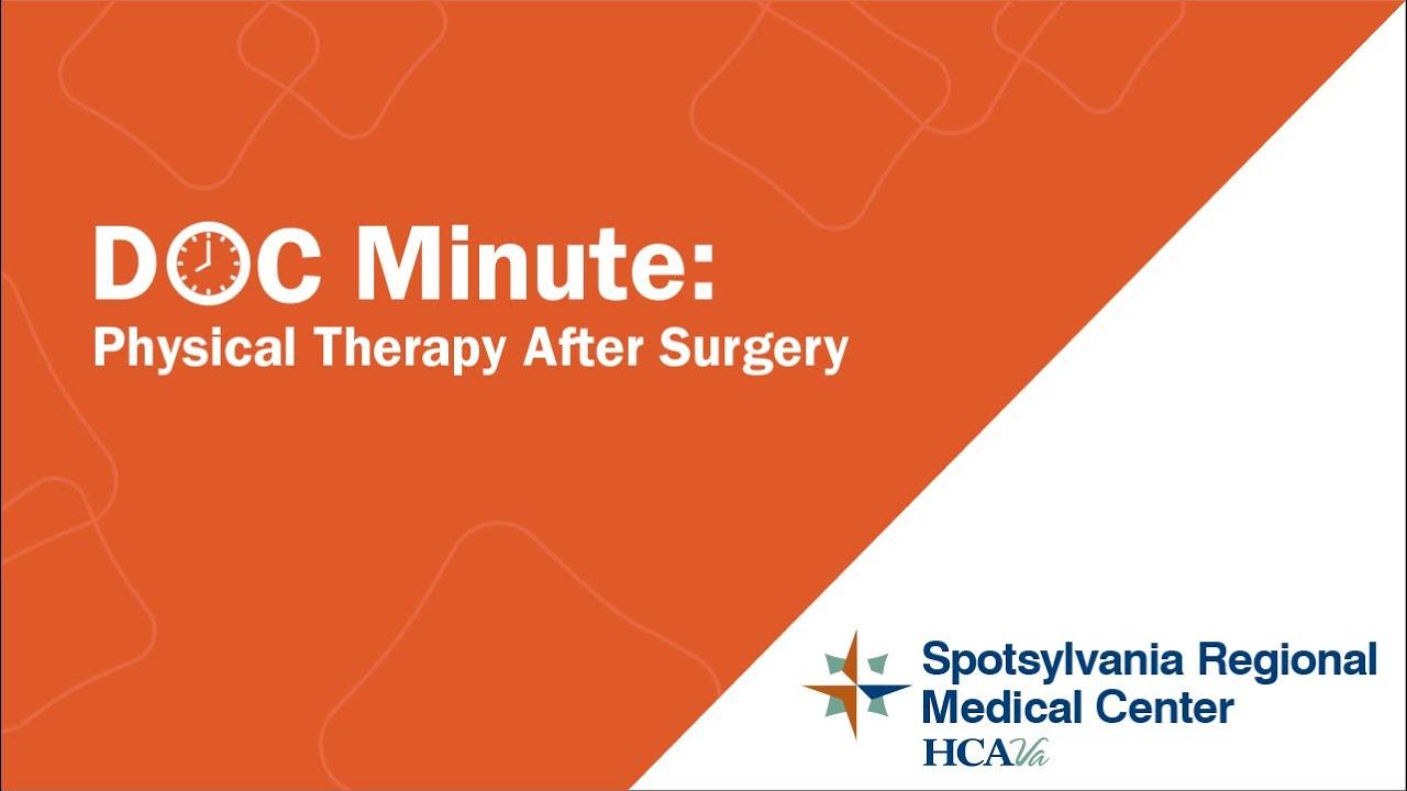 Physical Therapy & Rehabilitation | Spotsylvania Regional