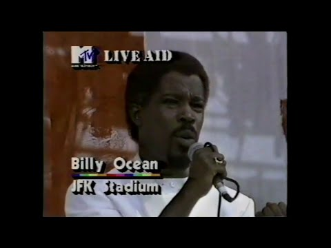 Billy Ocean - Caribbean Queen (MTV - Live Aid 7/13/1985)