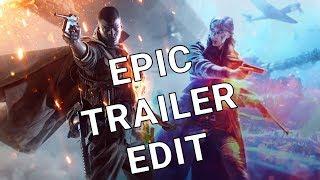 Battlefield V trailer edited to match the Battlefield 1 trailer's style [4K]