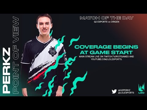 G2 Perkz | POV Stream | Week 1 Day 1 | LEC Spring Split (2019)