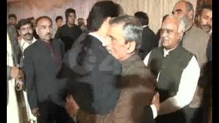 MNA Sardar Ayaz Sadiq Son Ahmed Ayaz Walima Ceremony Part 01 City42