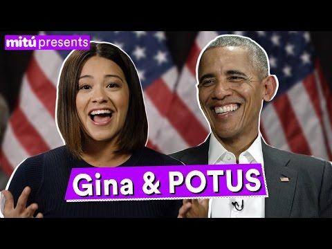 EXCLUSIVE: Gina Rodriguez Interviews President Obama - mitú