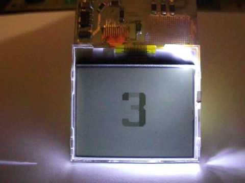 Подключение дисплея мобильника к atmega