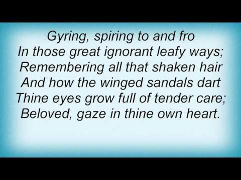 Loreena Mckennitt - The Two Trees Lyrics