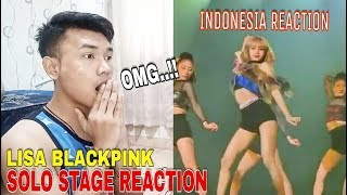 LISA Blackpink solo stage | Concert in Bangkok Thailand 2019 - INDONESIA REACTION