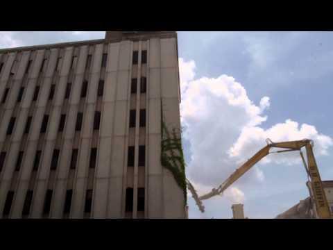 Ledger Enquirer Page building demolished