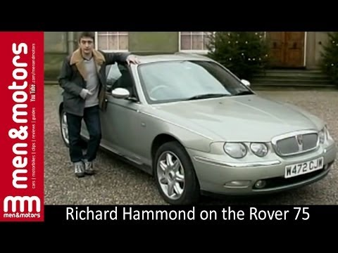 Richard Hammond on the Rover 75
