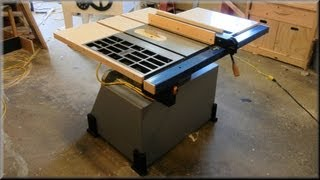 Rebuilt Table Saw