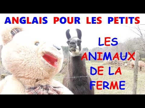 anglais facile pour les petits les animaux de la ferme youtube. Black Bedroom Furniture Sets. Home Design Ideas