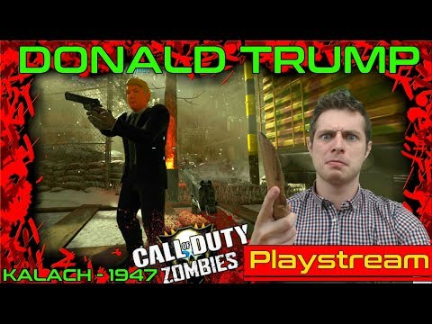 Let's Play: CRAZY CUSTOM DONALD TRUMP MOD! KALACH MAP: Call of Duty: Black Ops 3: Mod Tools