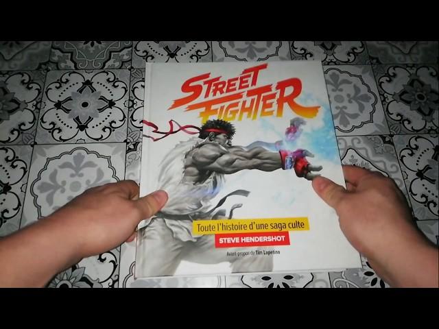 Présentation Artbook street fighter toute l'histoire d'une saga culte