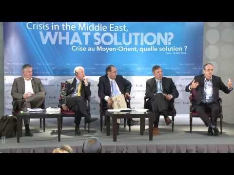 Frédéric Encel au Colloque de la FEMO – Crise au Moyen-Orient, quelle solution ?