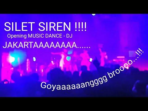 ARTIS JEPANG hits nge Dance Music (Dj Intro) - Silent Siren Concert 2016 Upper Room, Jakarta