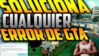 GTA San andreas (GTA.exe dejo de funciona)r SOLUCION l WINDOWS 8,7,8.1,10 l