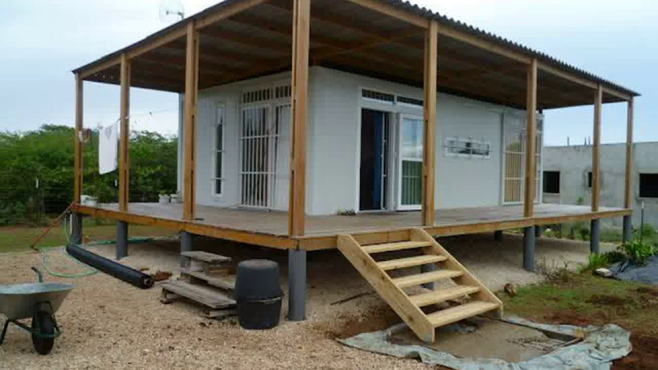 Shipping container house hawaii youtube for Hawaii home builders