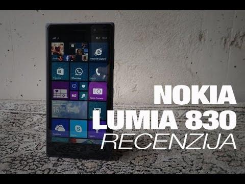 Nokia Lumia 830 Recenzija
