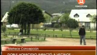 Violencia en las calles de Curanilahue, cámaras de seguridad captan brutales peleas