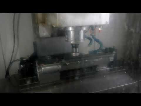 Фрезеровка станины токарного станка ТВ16 на ЧПУ Mikron