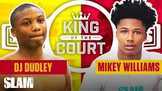 Mikey Williams' Iso Game is TUFF! FACTS ONLY. 👑 | SLAM King of the Court