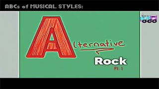 A is for ALTERNATIVE ROCK pt. 1 - kids learn ABCs and cool music stuff
