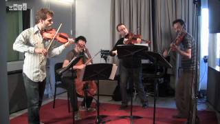Brooklyn Rider Plays Debussy's String Quartet Live on Soundcheck