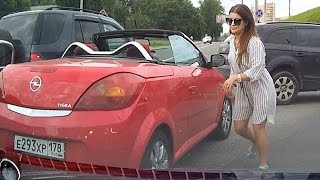 Woman car crashes  ✦ women driving fails ✦  part 10