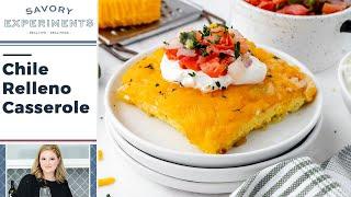 Chile Relleno Breakfast Casserole