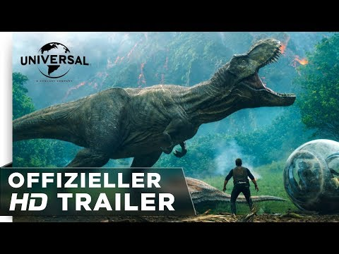 Jurassic World: Das gefallene Königreich - Trailer deutsch/german HD
