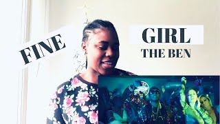 FINE GIRL BY THE BEN REACTION VIDEO Chris Hoza